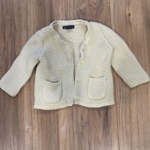 Baby gap girls sweater
